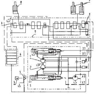 三一210挖掘机电路图