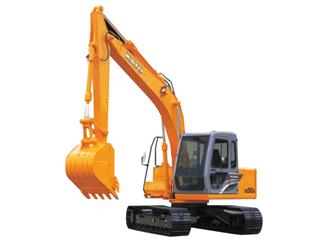 加藤HD512R挖掘机全车动作特慢没劲