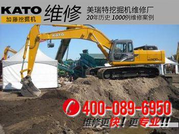 加藤HD1430V挖掘机工作无力怎么办