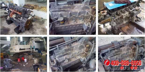 阿特拉斯2306道依茨发动机大修