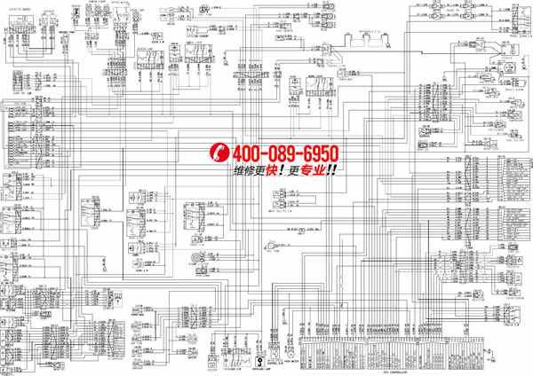 【Hyundai高清】现代挖机电路图