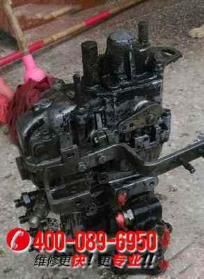 住友SH60挖掘机发动机大修