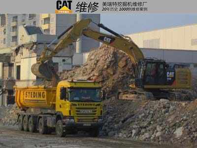 工地需要装车 好手 挖掘机装车技巧分享 美瑞特挖掘机维修厂