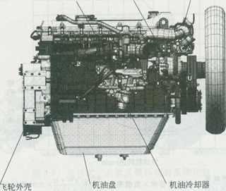 【图解】神钢sk挖掘机j05/j08电喷柴油机总体结构