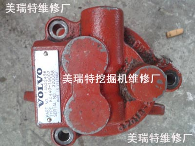 沃尔沃EC460BLC挖掘机温度高发动机维修