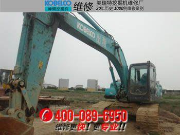 南江县神钢SK200-8挖掘机转速低、动作慢