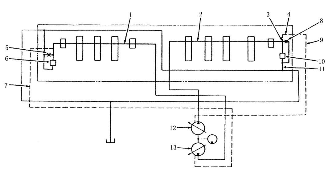 卡特挖掘机电子油门控制电路图