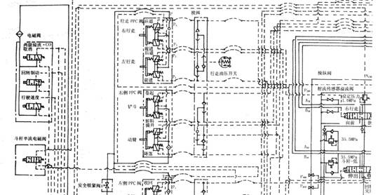 小松挖掘机电路维修