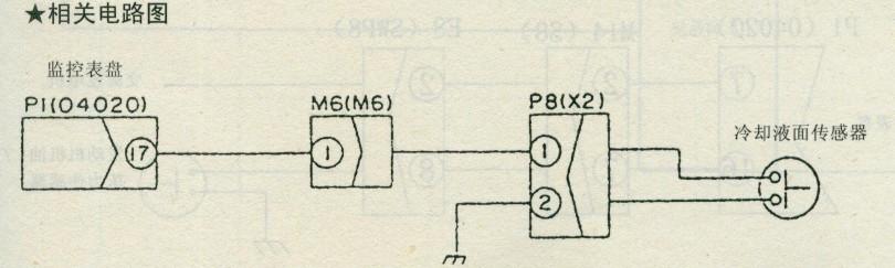 柴油机起动开关接线电路图