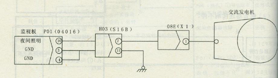 断线检测电路图
