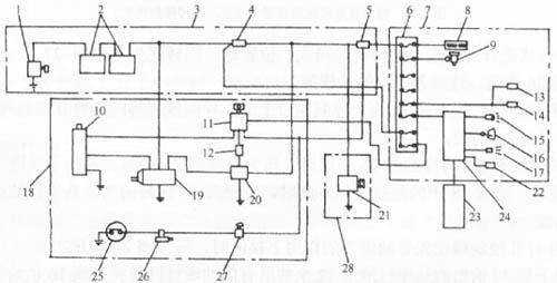 本电路利用交流发电机