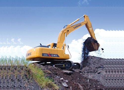 柳工挖掘机机油压力低