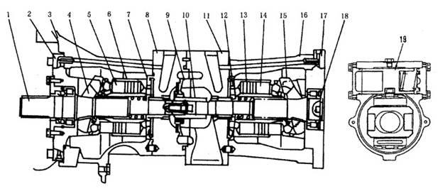 小松pc200-5型液压泵系统工作原理图片